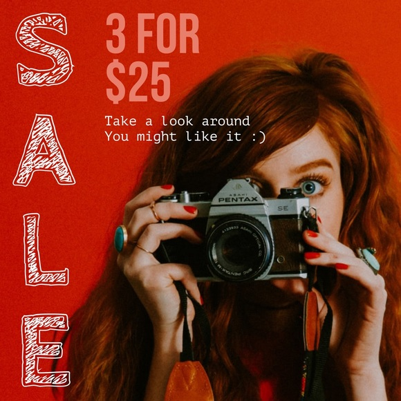 Other - 🔴 Red Dot Sale 🔴 all items with 🔴 are 3 for $25